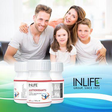 INLIFE Antioxidants - 60 Tablets