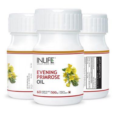 INLIFE Evening Primrose Oil - 60 Capsules