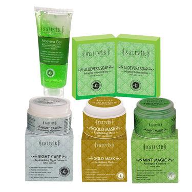 Sattvik Organics Absolute Aloevera Refreshing Combo Plus (475g)
