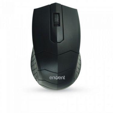 Envent Jerry Sturdy USB Mouse - Black