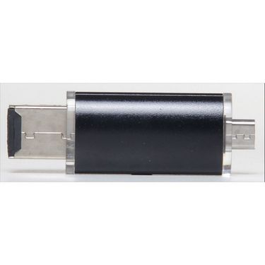 Flashmob Usb Dongle For Micro Sd Card Expandable Memory Upto 32 Gb - Black