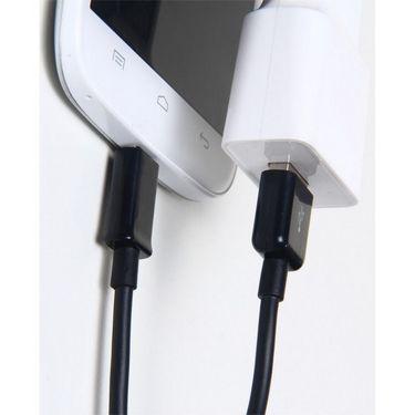 Flashmob Premium Quality Micro Usb Sync And Charging Cable - Black