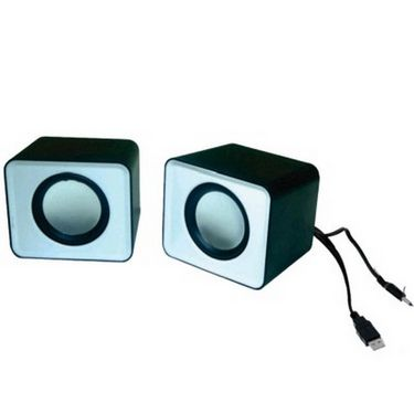 Flashmob Mini Notebook Pc  Speaker - White &  Black