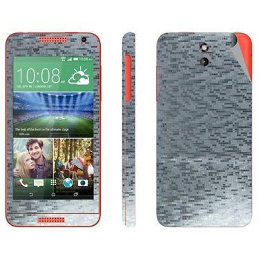 Snooky Mobile Skin Sticker For Htc Desire 610 - Silver