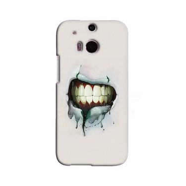 Snooky 19792 Digital Print Hard Back Case Cover For Htc One M8 - Cream