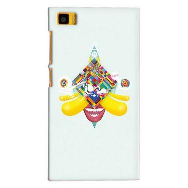 Snooky 20065 Digital Print Hard Back Case Cover For Xiaomi Mi3 - Green