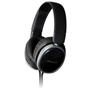 Panasonic RP-HX250E-K Over-Ear Headphones for iPod/MP3 player/Mobiles - Black