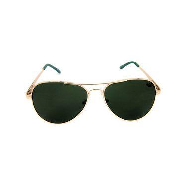 Flying Machine  Aviator Sunglasses For Men_fms110col201 - Green
