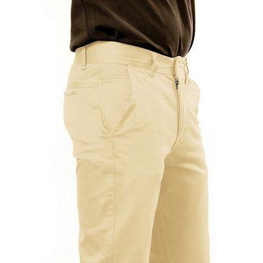 Uber Urban Regular Fit Cotton Chinos For Men_70051731435Bg - Beige