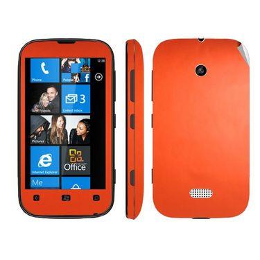 Snooky Mobile Skin Sticker For Nokia Lumia 510 20972 - Orange