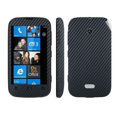 Snooky Mobile Skin Sticker For Nokia Lumia 510 20965 - Black