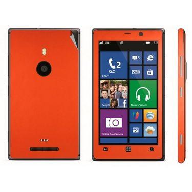Snooky Mobile Skin Sticker For Nokia Lumia 925 21021 - Orange
