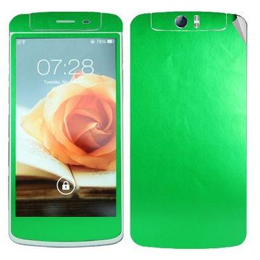 Snooky Mobile Skin Sticker For OPPO N1 20901 - Green