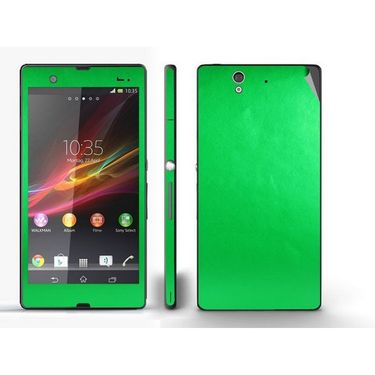Snooky Mobile Skin Sticker For Sony Xperia Z 20836 - Green