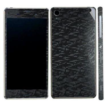 Snooky Mobile Skin Sticker For Sony Xperia Z3 20846 - Black