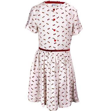 ShopperTree White printed Dress_ST-1415