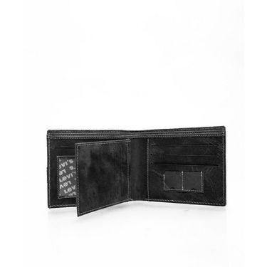 Levis Leather Wallet For Men_levis501bk - Black