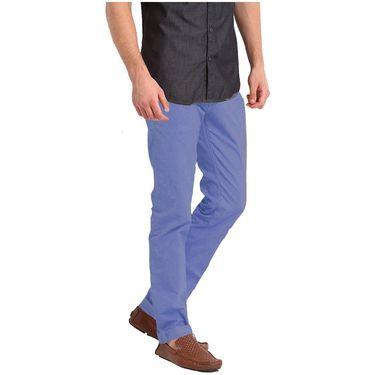 Good karma Cotton Chinos_gkj809 - Purple