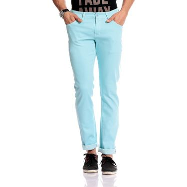 Good karma Cotton Chinos_gkj841 - Turquoise