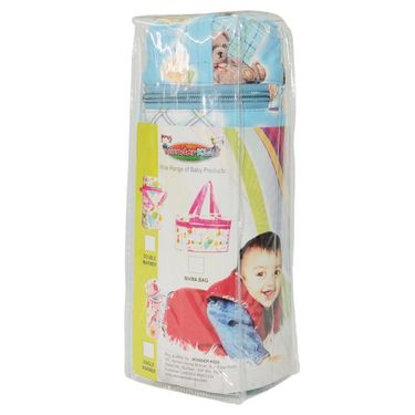 Wonderkids Blue Teddy Print Baby Bottle Warmer_BL-007-BTBW