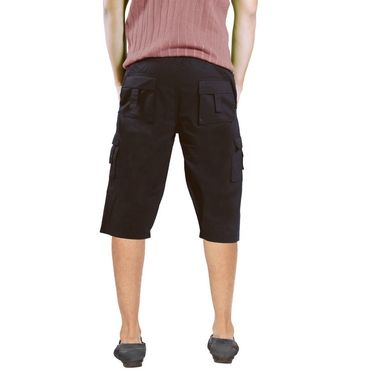Uber Urban Cotton Shorts_15017cof - Brown