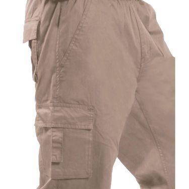 Uber Urban Cotton Shorts_15017dkh - Beige