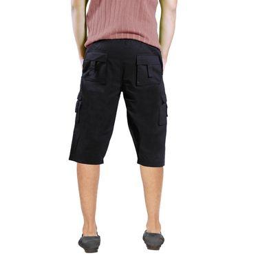 Uber Urban Cotton Shorts_15017blk - Black