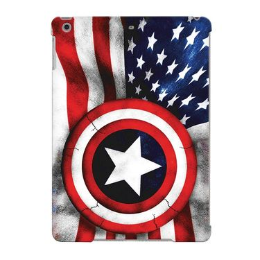 Snooky Digital Print Hard Back Case Cover For Apple iPad Air 23665 - Blue
