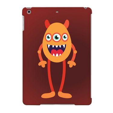 Snooky Digital Print Hard Back Case Cover For Apple iPad Air 23698 - Maroon