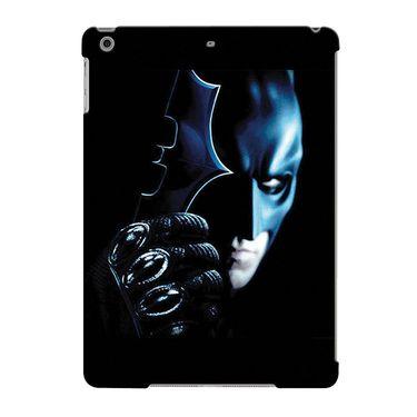 Snooky Digital Print Hard Back Case Cover For Apple iPad Air 23666 - Black