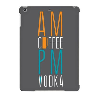 Snooky Digital Print Hard Back Case Cover For Apple iPad Air 23637 - Grey