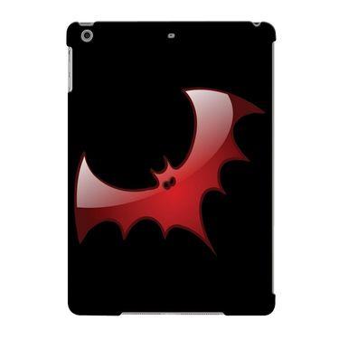 Snooky Digital Print Hard Back Case Cover For Apple iPad Air 23702 - Black
