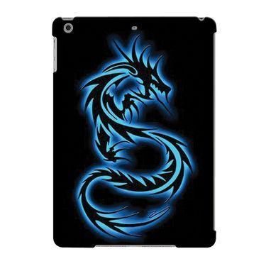 Snooky Digital Print Hard Back Case Cover For Apple iPad Air 23657 - Black