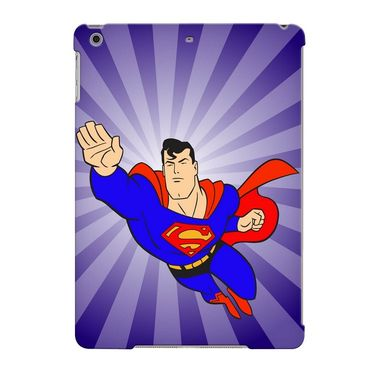 Snooky Digital Print Hard Back Case Cover For Apple iPad Air 23707 - Purple