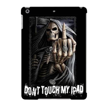 Snooky Digital Print Hard Back Case Cover For Apple iPad Air 23596 - Black