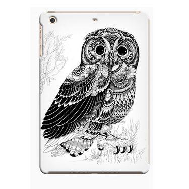 Snooky Digital Print Hard Back Case Cover For Apple iPad Mini 23808 - White