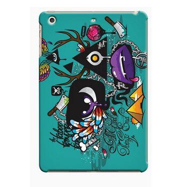 Snooky Digital Print Hard Back Case Cover For Apple iPad Mini 23828 - Green