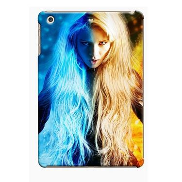 Snooky Digital Print Hard Back Case Cover For Apple iPad Mini 23829 - multicolour