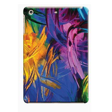Snooky Digital Print Hard Back Case Cover For Apple iPad Mini 23815 - Blue