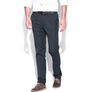 Good karma Cotton Stretchable Chinos_nt08dg - Dark Grey