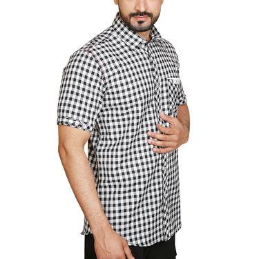 Sparrow Clothings Cotton Checks Shirt_wjc03 - Multicolor