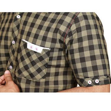 Sparrow Clothings Cotton Checks Shirt_wjc08 - Multicolor