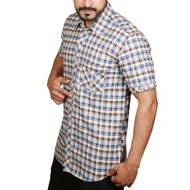 Sparrow Clothings Cotton Checks Shirt_wjc20 - Multicolor