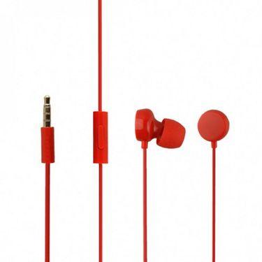 Flashmob Jelly earphone - Red
