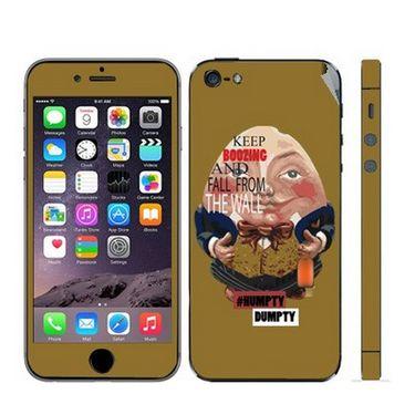Snooky 28357 Digital Print Mobile Skin Sticker For Apple Iphone 5 - Multi