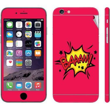 Snooky 28410 Digital Print Mobile Skin Sticker For Apple Iphone 6 - Pink