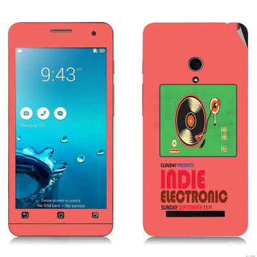 Snooky 27654 Digital Print Mobile Skin Sticker For Asus Zenfone 5 A501CG - Multi