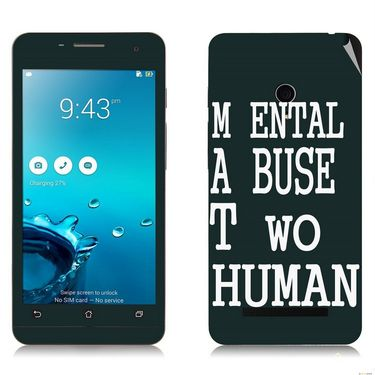 Snooky 27640 Digital Print Mobile Skin Sticker For Asus Zenfone 5 A501CG - Multi