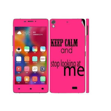 Snooky 27698 Digital Print Mobile Skin Sticker For Gionee Elife 5.1 - Pink