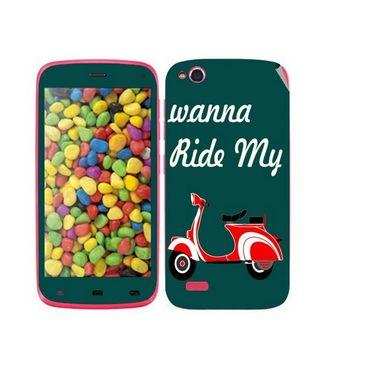 Snooky 27724 Digital Print Mobile Skin Sticker For Gionee Elife E3 - Green